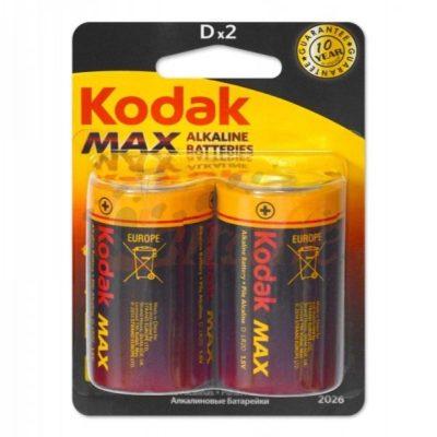 Элемент питания Kodak R20 BL-2, 14443