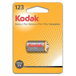 Элемент питания Kodak CR 123 BL-1 (шт.), 27331