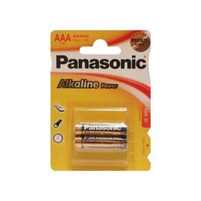 Элемент питания Panasonic LR 03 BL-2 (шт.), 37597
