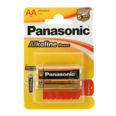 Элемент питания Panasonic LR06 BL-2 (шт.), 37599