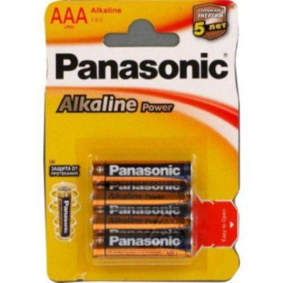 Элемент питания Panasonic LR 03 BL-4 (шт.), 38832