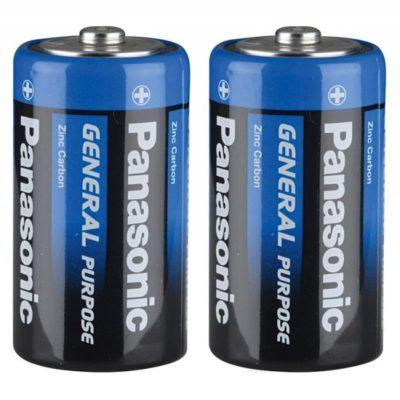Элемент питания Panasonic R20 BL2 (шт.), 62650