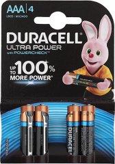 Элемент питания Duracell LR03 ULTRA POWER 4BL, 67684