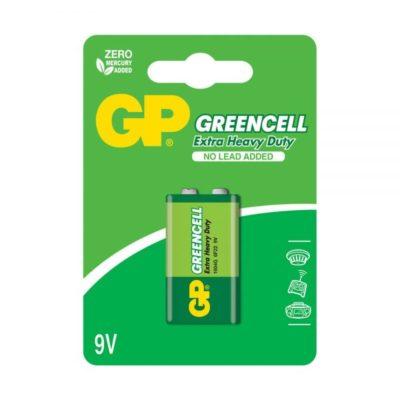 Элемент питания GP крона 6F22 Greencell BL-1 (шт.), 69219