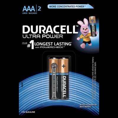 Элемент питания Duracell LR03 ULTRA POWER 2BL, 71595
