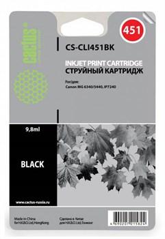 Струйный картридж Cactus CS-CLI451BK