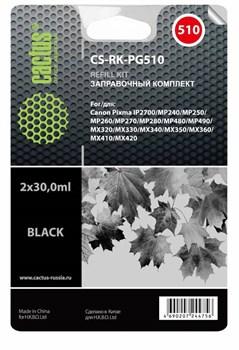 Заправочный набор Cactus CS-RK-PG510