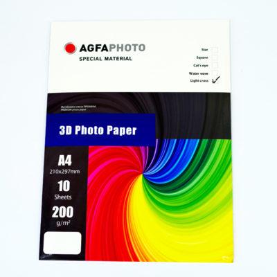 Фотобумага AGFA глянцевая 3D волна