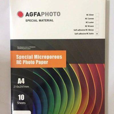 Фотобумага AGFAspecial серия микропористая самоклеящаяся