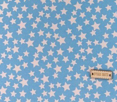 Ткань на клеевой основе «Звёздочки»