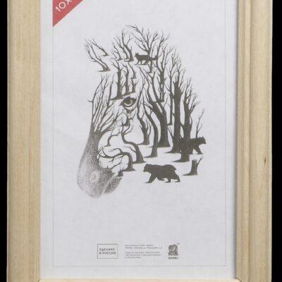 3839346 Фоторамка 10х15, дерево (1700)