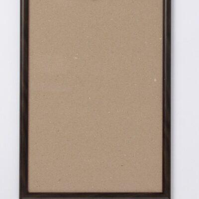 3888811 Фоторамка пластик, цвет черный, 21х30