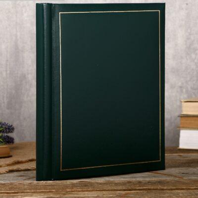 4452879 фотоальбом магнитный « Классика», зеленый,20 листов